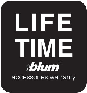 Lifetime Limited Kitchen Accessories (BLUM) Warranty