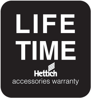 Lifetime Limited Kitchen Accessories (HETTICH) Warranty